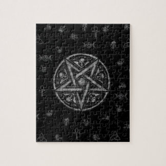Witchcraft symbols jigsaw puzzle