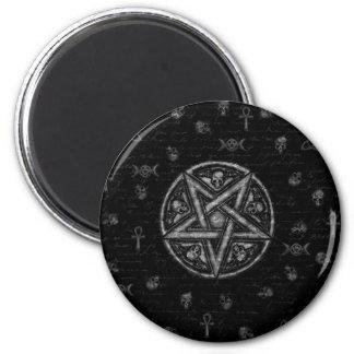 Witchcraft symbols magnet
