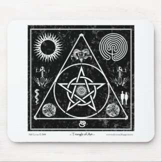 Witchcraft: The Triangle of Art Mouse Pad