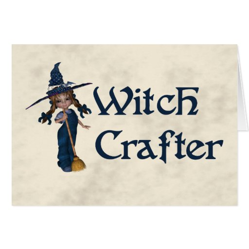 Witchcrafter Greeting Card