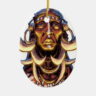 WITCHDOCTOR, meccacon Ceramic Ornament