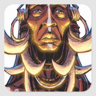 WITCHDOCTOR, meccacon Square Sticker