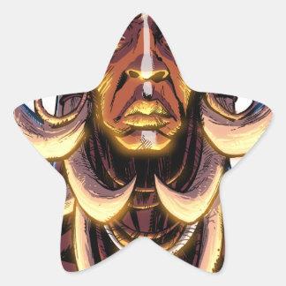 WITCHDOCTOR, meccacon Star Sticker