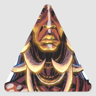 WITCHDOCTOR, meccacon Triangle Sticker