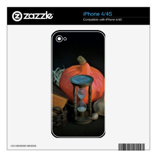Witchery objects on a table in a dark room decals for the iPhone 4S
