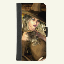 Witchery Witch Art iPhone/ Galaxy Wallet Case