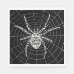 Witches Ball Spider Napkins