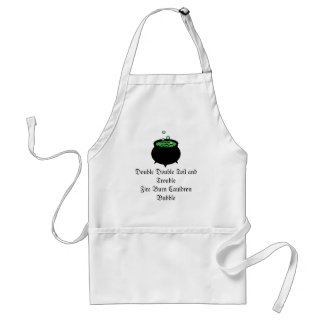 Witches Brew Adult Apron