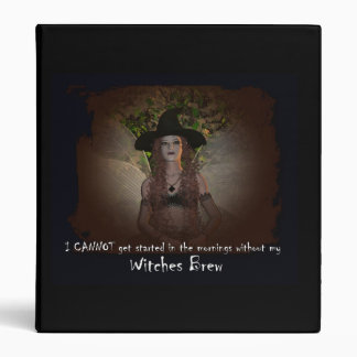 Witches Brew Avery Binder