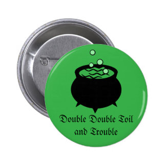 Witches Brew Pinback Buttons