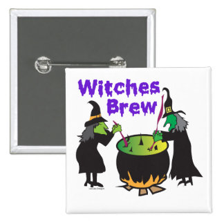 Witches Brew Gifts Buttons