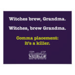 Witches, brew Grandma. Poster