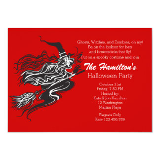 Witches Brew Halloween Night Party Custom Invitations