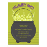 Witches Brew Halloween Party Personalized Invitation