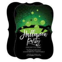 Witches Brew Halloween Party Invitation