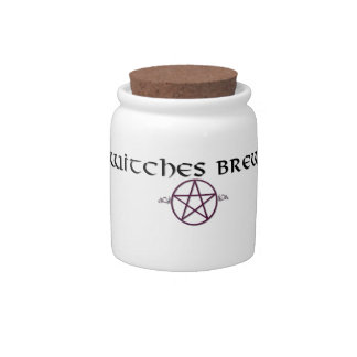 Witches Brew jar Candy Dishes