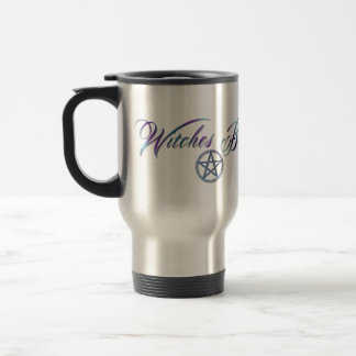 Witches brew travel coffee cup