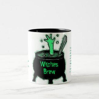 Witches Brew Two-Tone Coffee Mug