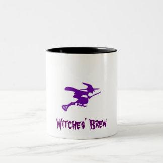 Witches' Brew Two-Tone Coffee Mug