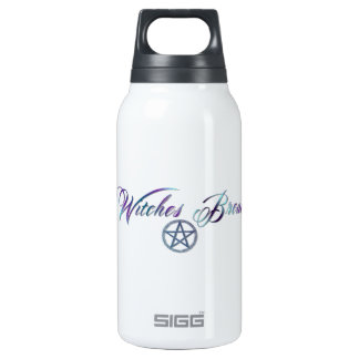 Witches Brew with pentacle Insulated Water Bottle