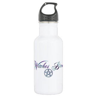 Witches Brew with pentacle Water Bottle