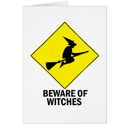 Witches Card