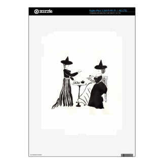 Witches Catching Up iPad 3 Decal