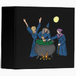 Witches Cauldron 3 Ring Binder