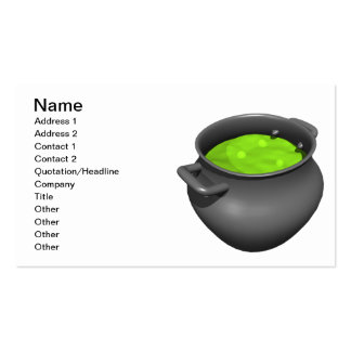 Witches Cauldron Business Cards