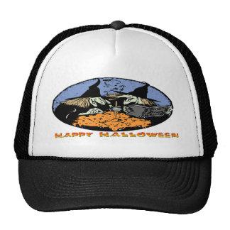 Witches Cauldron Trucker Hat