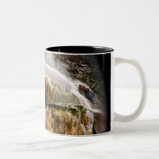 WITCHES CAULDRON IN YELLOWSTONE Two-Tone COFFEE MUG