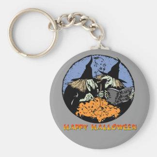 Witches Cauldron Keychain
