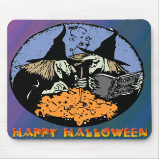 Witches Cauldron Mouse Pad