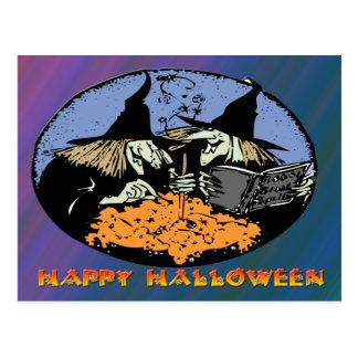 Witches Cauldron Postcard