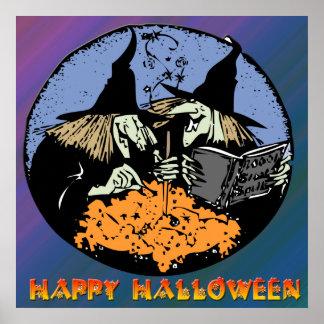 Witches Cauldron Poster