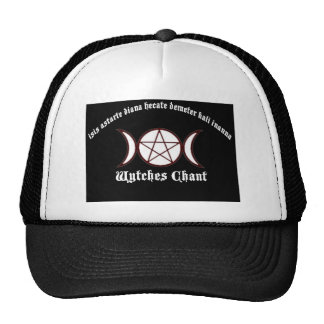 Witches Chant Mesh Hats