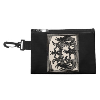 Witches Circle Dance Accessory Bags