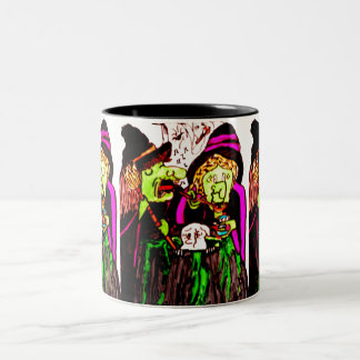 WITCHES COOKING GHOST mug
