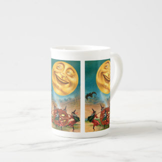 Witches Dancing Under the Moon Porcelain Mug