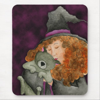 Witches Familiar Mousepad