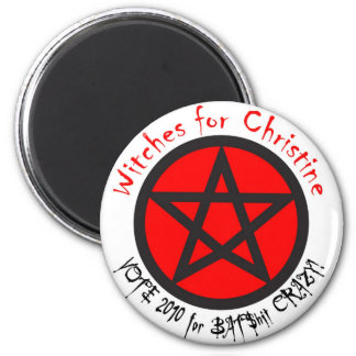 Witches for Christine Magnet