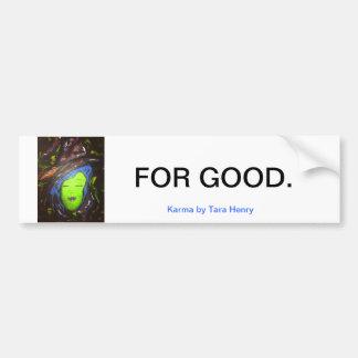 Witches for Good featuring Karma Bumper Sticker Car Bumper Sticker