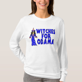 Witches For Obama Fun Halloween T-Shirt