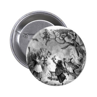 Witches Frolic Button