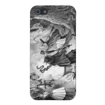 Halloween Themed Witches Frolic iphone case