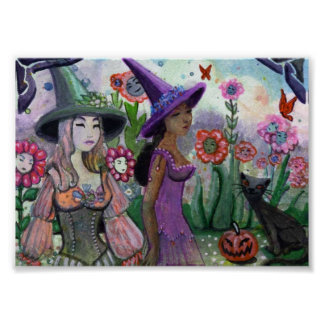 Witches Garden Poster