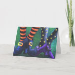 """Witches Halloween Card<br><div class=""""desc"""">Halloween Greeting cards</div>"""