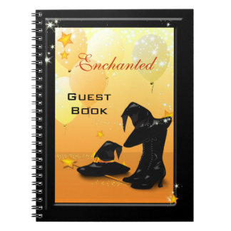 Witches Halloween Enchanting Witch Party Guest Notebook