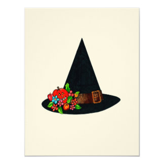 Witches Hat Invitation (customizable)
