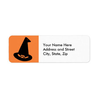 Witches Hat Label